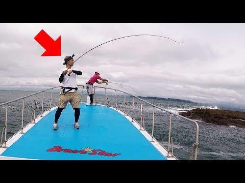 (ENG SUB)Fishing Black Sea Bream On A Boat!!