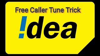how to set your fav caller tune free on idea sim for lifetime