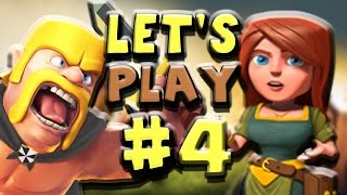 Clash of Clans | Let's Play Episode #4 - Maxed Town Hall 2