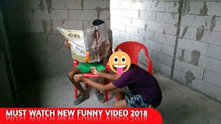 Must Watch New Funny 😂😂 Comedy Video 2018 | Try Not To Laught | Episode 3 || Funny Black Hole ||