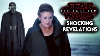 Star Wars The Last Jedi Shocking Revelations Revealed By Tests