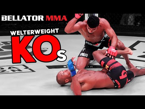 TOP Devastating Welterweight KOs | Bellator MMA