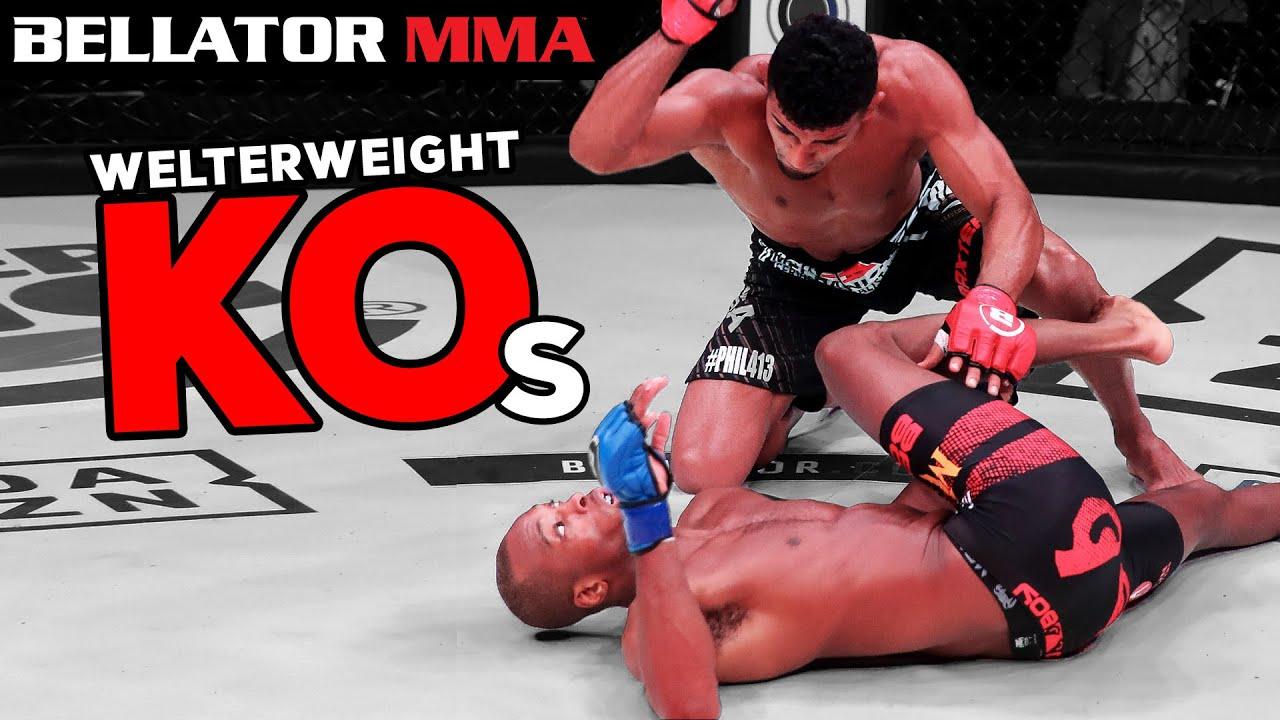 Download TOP Devastating Welterweight KOs   Bellator MMA