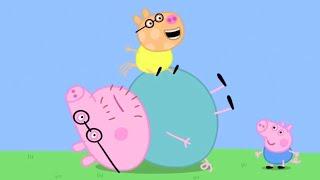 Мультфильмы Серия - Свинка Пеппа на русском все серии подряд - Сборник 15 - Мультики