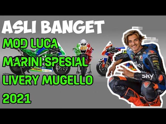 Pertama Mod Luca Marini Livery Spesial Mugello 2021 Youtube