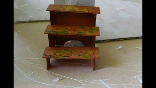 Dollhouse Miniature Shelf Kit