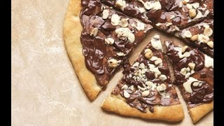 how to make chocolate pizza