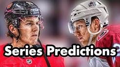 2019 NHL Playoffs Predictions Calgary Flames VS Colorado Avalanche