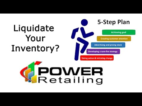 Liquidate Your Inventory - How to liquidate your inventory