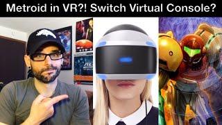 Metroid Prime 4 in VR?! Nintendo Switch Virtual Console? - Mini Q&A! | Ro2R