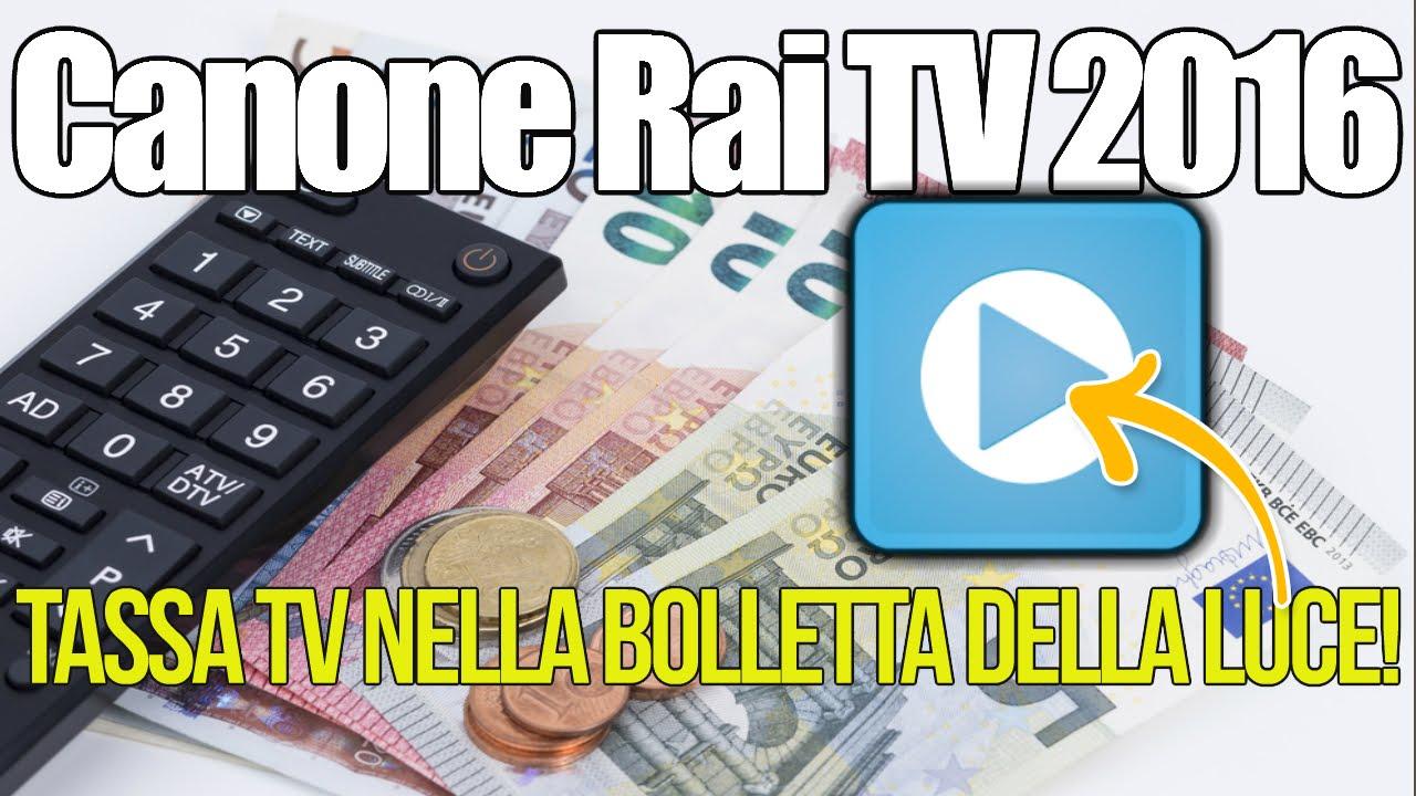 Canone Rai TV 2016 Paga Anche Chi Ha Un Videocitofono!   YouTube