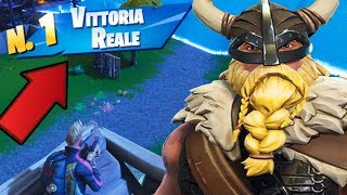 FORTNITE: REAL VITTORY WITH MAGNUS, THE NEW SKIN VICHINGA