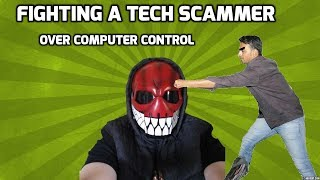 Fighting With Tech Scammer Over PC Control thumbnail