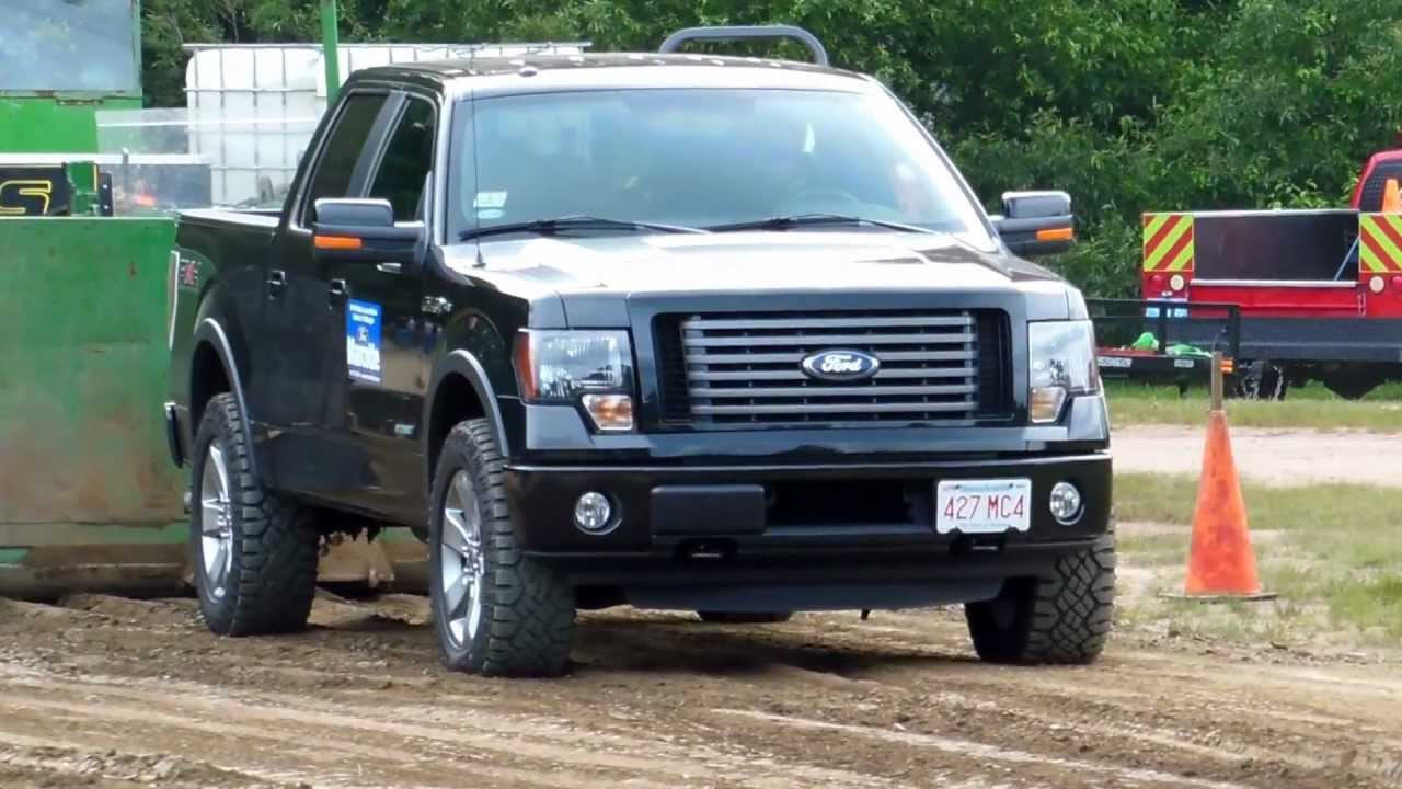 ford f150 ecoboost debuts in truck pull youtube. Black Bedroom Furniture Sets. Home Design Ideas