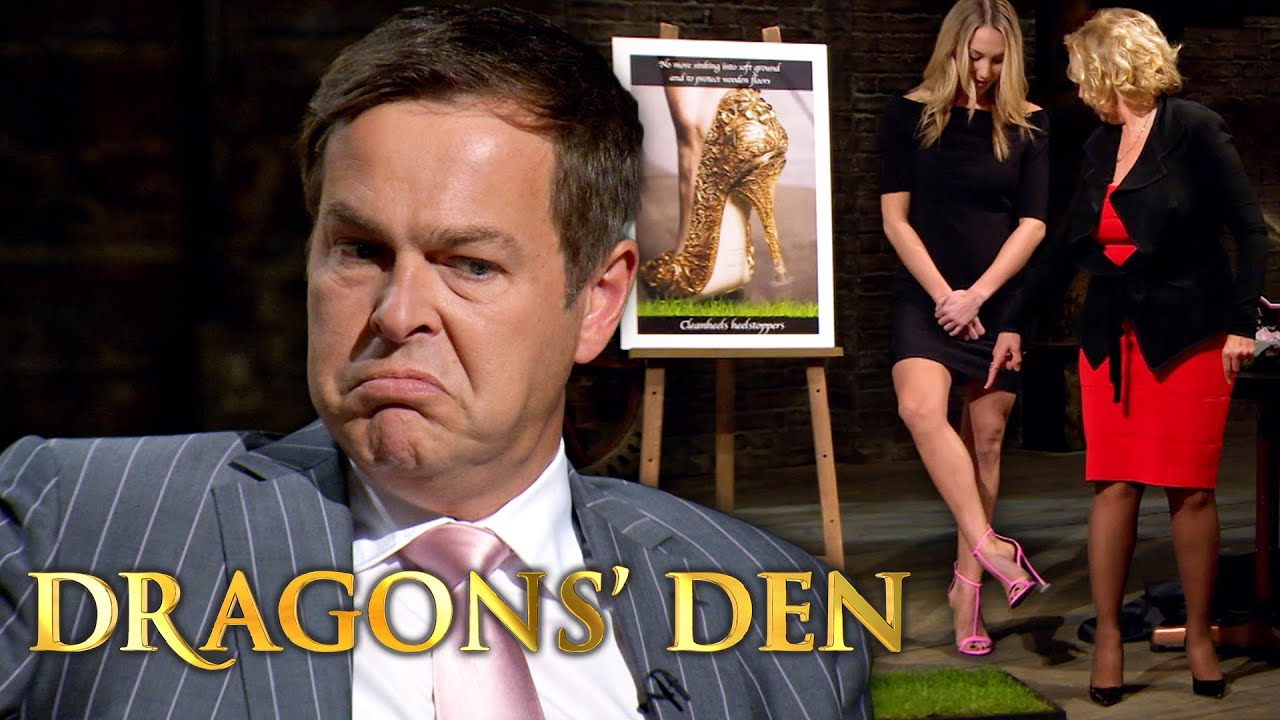 Dragons Divided By Gender Over The Heel Stoppers | Dragons' Den