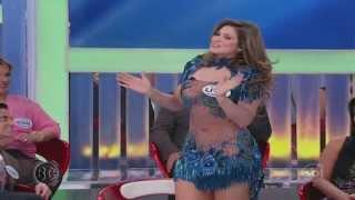Repeat youtube video Livia Andrade de Vestido Azul Transparente Muito Gostosa
