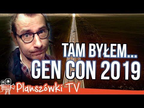 Planszówki TV - Byłem tam... Gen Con 2019