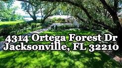 4314 Ortega Forest Dr, Jacksonville, FL--Jane Slater, Berkshire Hathaway HomeServices, FNR