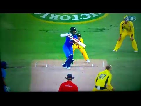 Australia VS India 2016 One Day International
