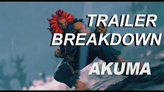 Akuma Trailer Breakdown - Street Fighter V Season 2