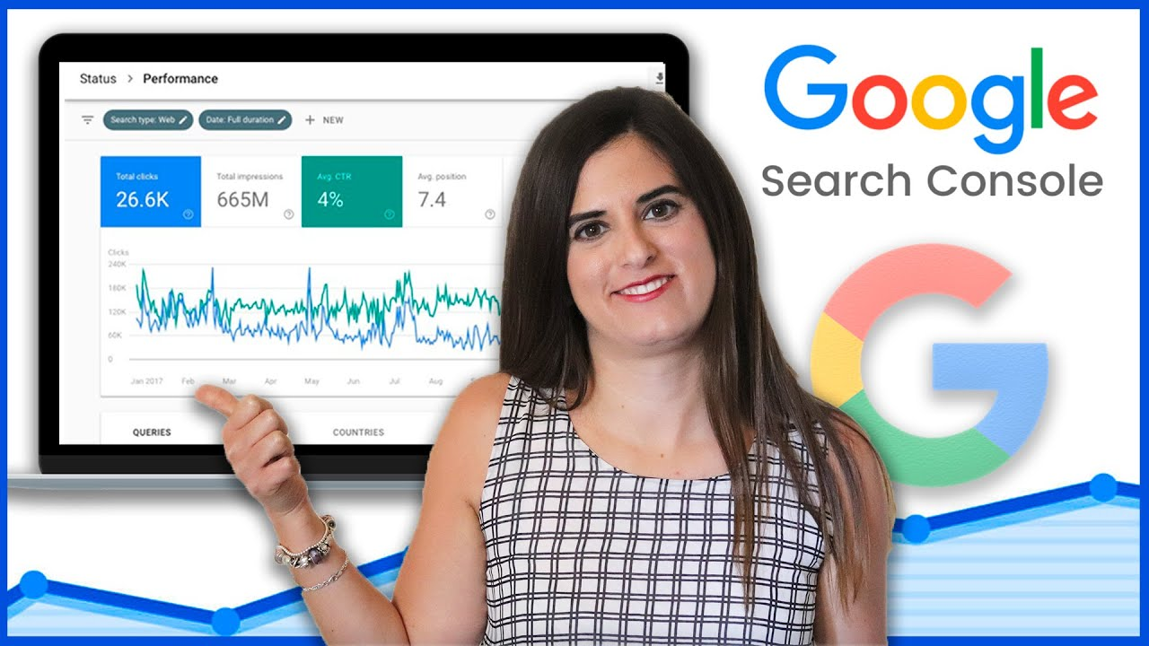 Optimiza tu SEO con Google Search Console | Claves + Tutorial