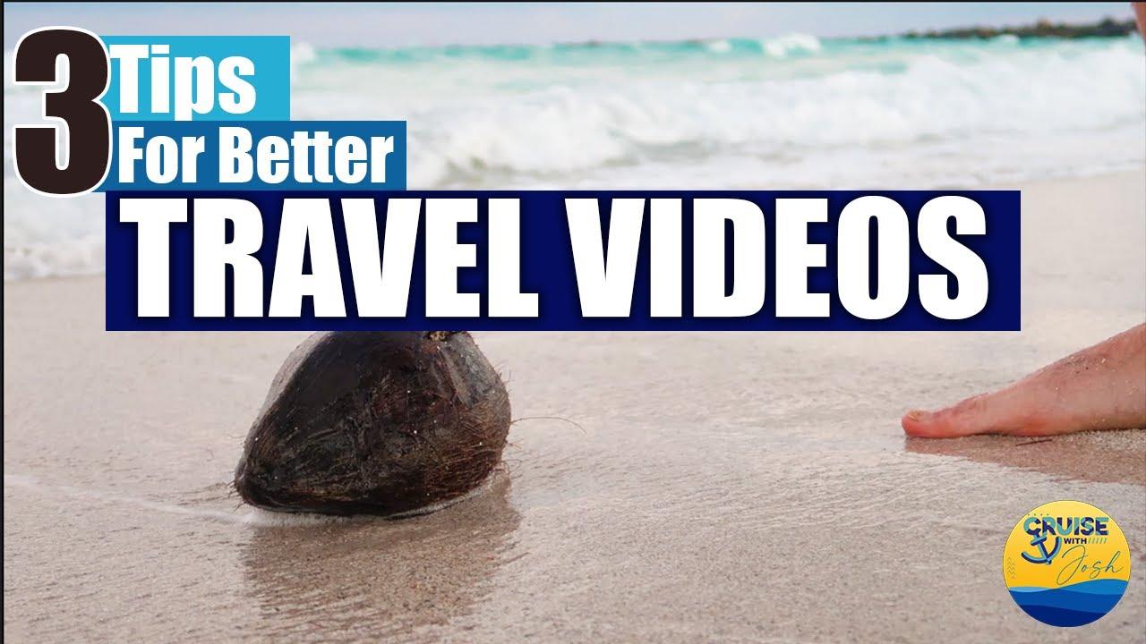 3 Tips for Better Travel Videos #Shorts