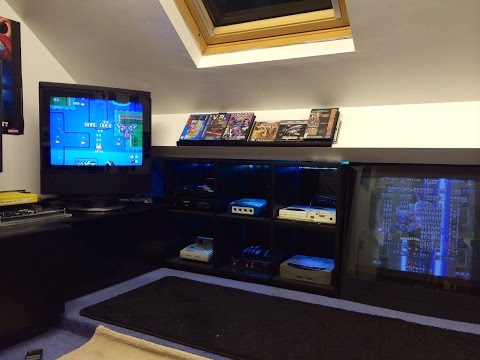 Games Room 2015/Man Cave/ Retro gaming...