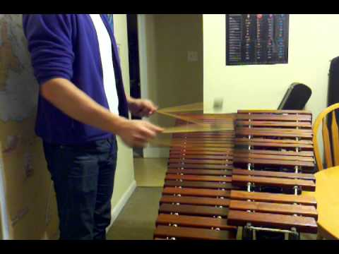Foster the People - PUMPED UP KICKS - marimba solo