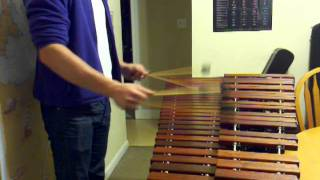 Foster the People - PUMPED UP KICKS - marimba solo.3gp