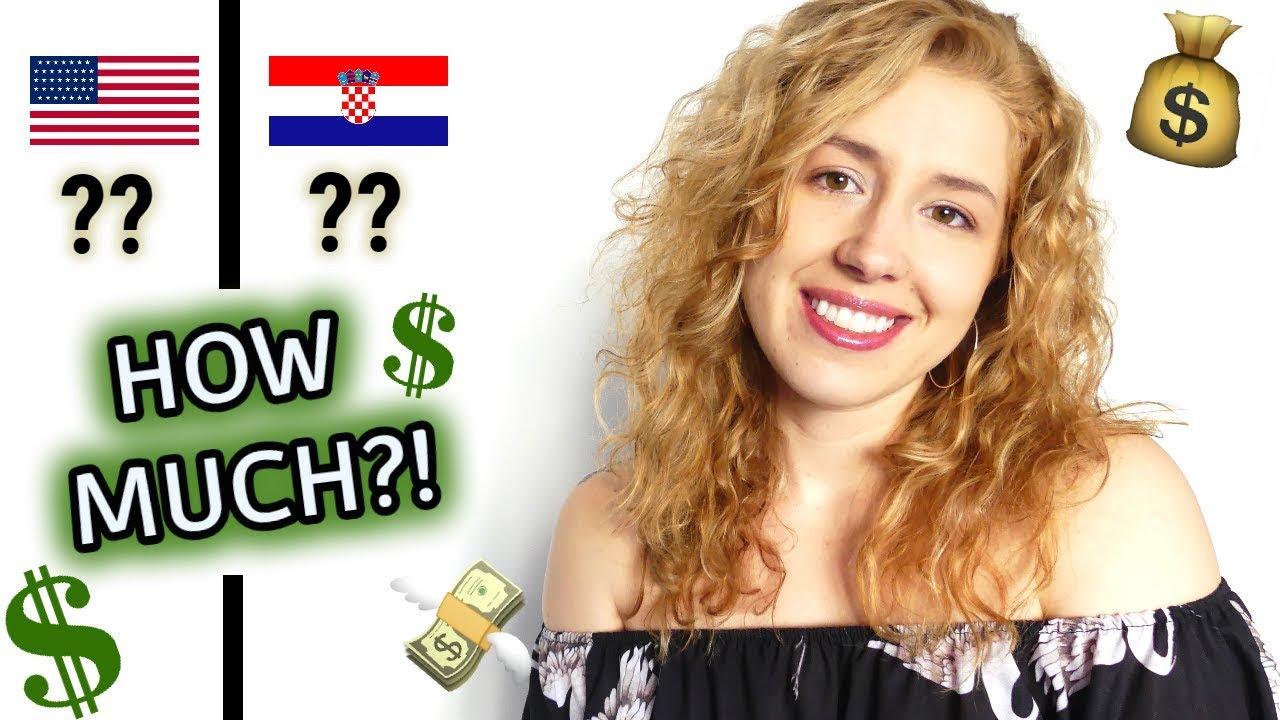 America Vs Croatia Cost Comparison