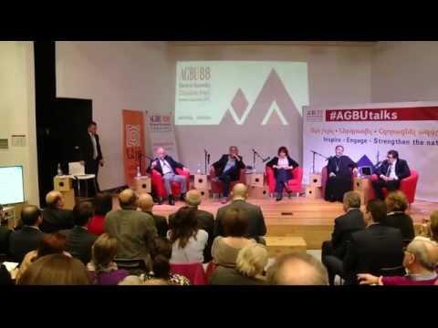 AGBUtalks 1: Human Capital in Armenia and the Diaspora