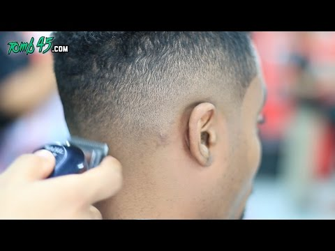 Barber Fade Tutorial With Wahl Seniors