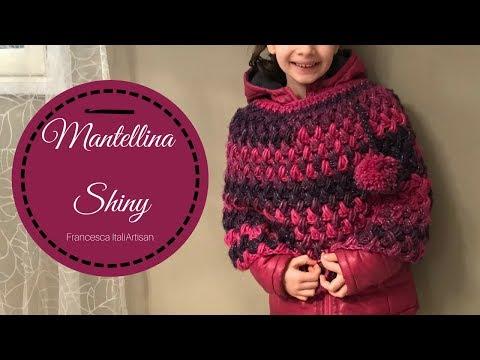 Mantellina Shiny I Cappa Alluncinetto Per Bambina I Crochet For