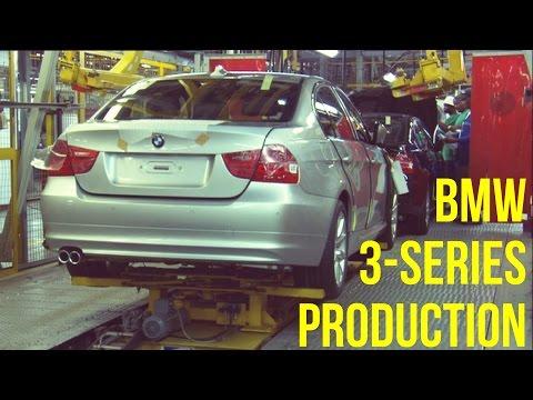 BMW 3 Series E90 Production