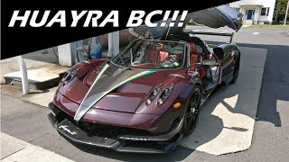 What It's Like To Ride In A Pagani Huayra BC!!!!