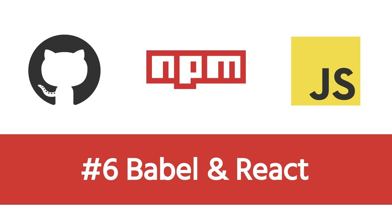 Build a Modern JS Project - #6 Babel & React