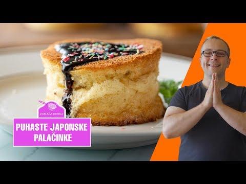 Puhaste japonske palačinke