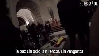 El último 20-N con Franco en el Valle de los Caídos