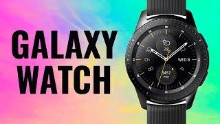 5e25ef48be SAMSUNG Galaxy Watch 42mm Rose Gold  video  video ...