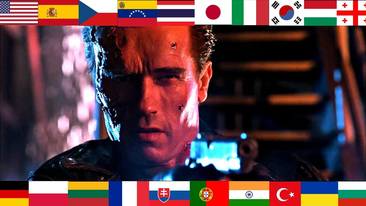 """Terminator 2 - """"Hasta La Vista Baby"""" in 22 different languages"""