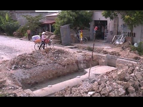 Mất ATGT do thi công đường liên xã tại huyện Quảng Xương
