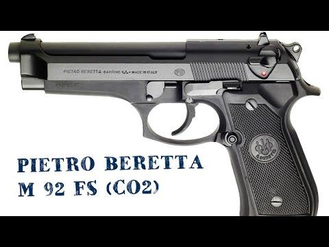 Pietro Beretta M 92 FS (CO2) Demostración