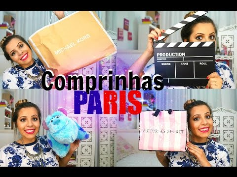 COMPRINHAS DE PARIS: MICHAEL KORS, APPLE, H&M,VICTORIA SECRETS,RALPH LAUREN, DIESEL