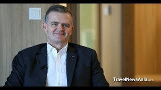 Crowne Plaza Changi Airport Singapore - Interview with Bruno Cristol, GM