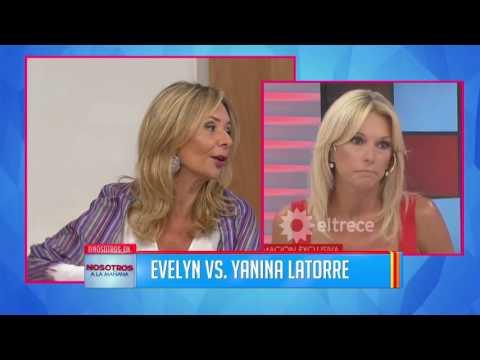 Evelyn defendió a Yanina Latorre en medio del escándalo con su marido