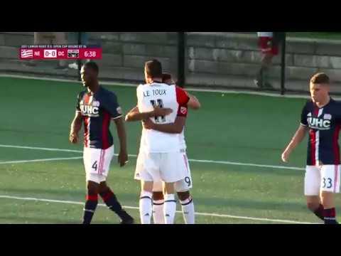 Lamar Hunt U.S. Open Cup: New England Revolution vs. D.C. United: Highlights - June 28, 2017
