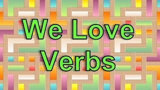 The Verb Song (We Love Verbs) | Silly School Songs