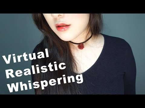 ASMR Moving Real Whisper with English Trigger Words