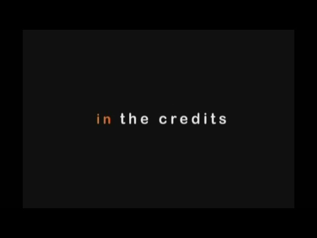 """In The Credits™"" Trailer"