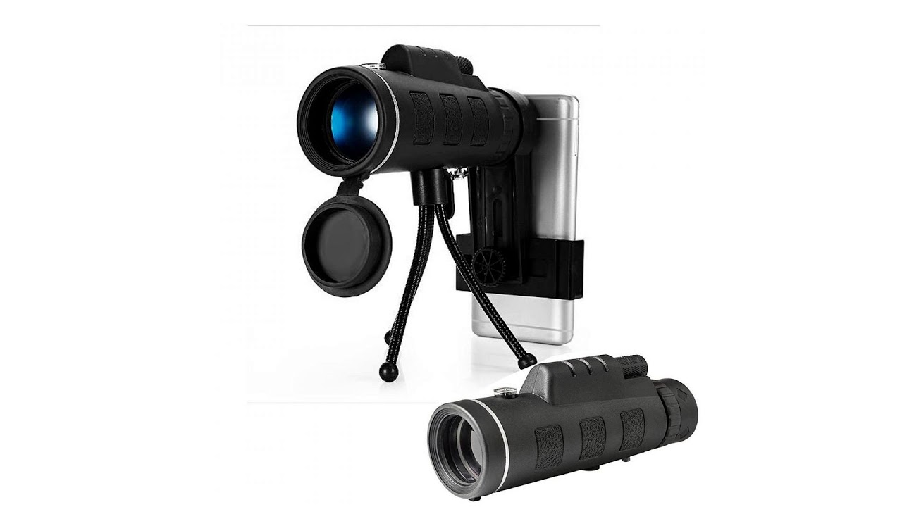 Monocular telescope hd night vision prism scope with compass